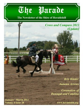 Volume 4, Issue 28 - January-March 2013 - Heraldshill!