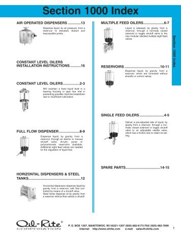 Lubricators - Major Furnace Australia provides thermal and mineral ...