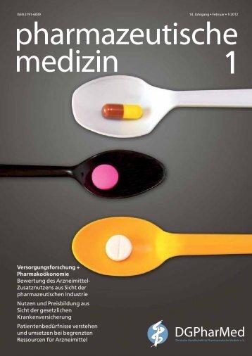 Preisbildung und Erstattung von Arzneimitteln in der EU