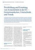 Preisbildung und Erstattung von Arzneimitteln in der EU - Seite 2