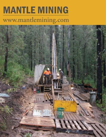 MANTLE MINING - The International Resource Journal