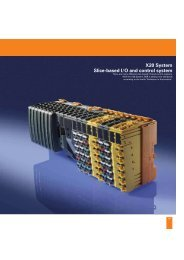 X20 System Slice-based I/O and control system