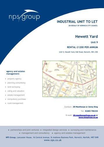 Hewett Yard - NPS