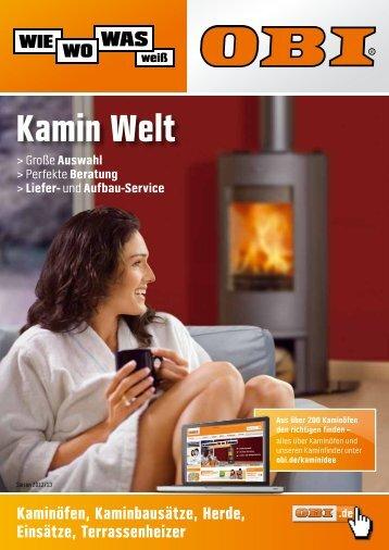 OBI Katalog Kamin Welt 2012/2013 - Werbung OBI ... - A4-Center