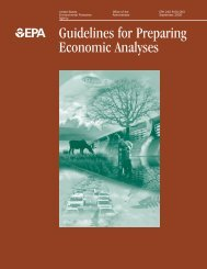 Guidelines for Preparing Economic Analyses - Department of Finance
