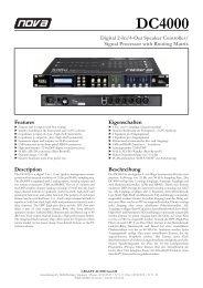 DC4000 - NOVA by CRAAFT Audio