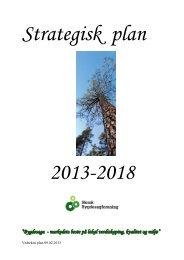 Norsk Bygdesagforening har utarbeidd Strategisk Plan for perioden ...