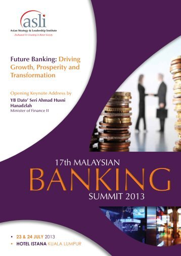 Future Banking - Asian Strategy & Leadership Institute