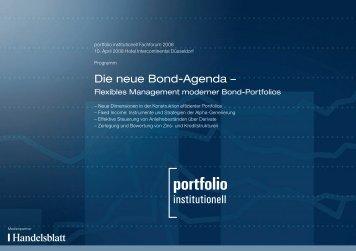 Die neue Bond-Agenda –