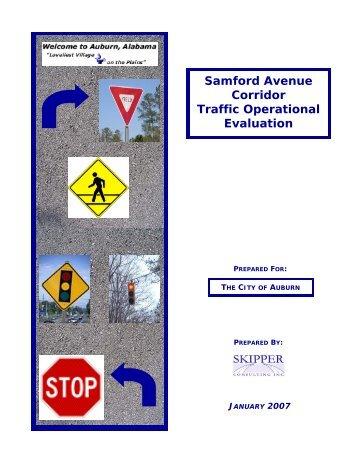 c. Samford Avenue Corridor - City of Auburn