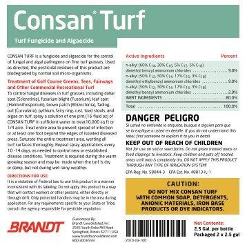 Consan Turf - Brandt