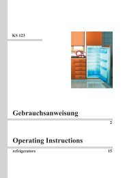 Gebrauchsanweisung Operating Instructions