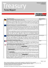 Die Eurozone kommt in Bewegung - Bremer Landesbank