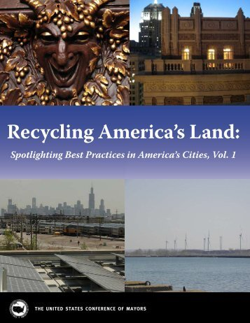 Recycling America's Land: - U.S. Conference of Mayors