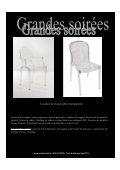 Location de mobilier , tables lumineuses pour 8 ... - Creations 44 - Page 4