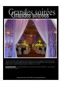 Location de mobilier , tables lumineuses pour 8 ... - Creations 44 - Page 6
