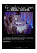 Location de mobilier , tables lumineuses pour 8 ... - Creations 44 - Page 7