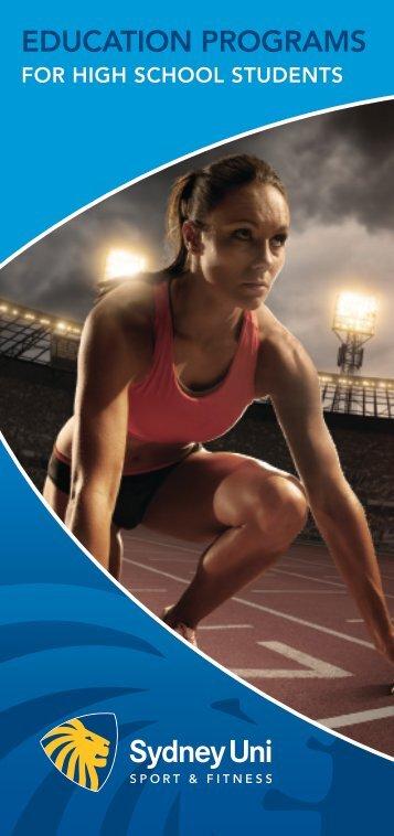 EDUCATION PROGRAMS - Sydney University Sport