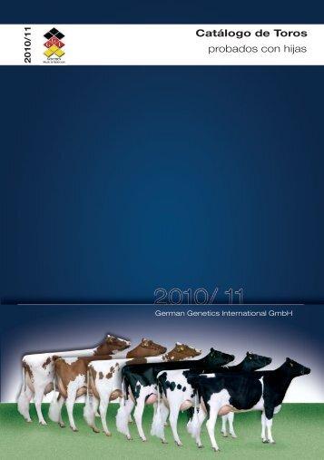 catálogo de toros - probados con hijas - GGI German Genetics ...