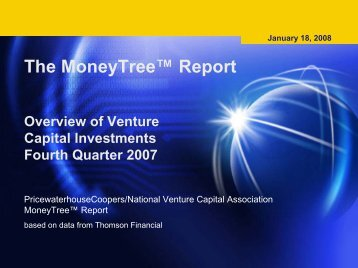 The MoneyTree™ Report - VentureBeat