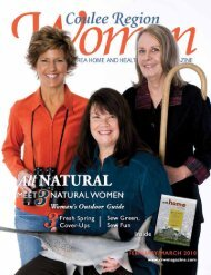 February/March 2010 - Coulee Region Women's Magazine