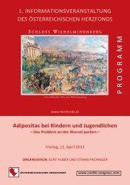 Adipositas bei Kindern und Jugendlichen - Zonta Golden Heart