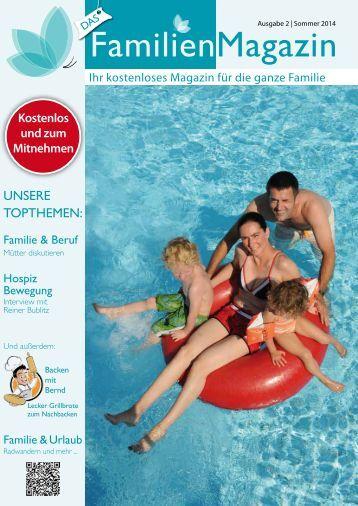 FamilienMagazin - Sommerausgabe 2014
