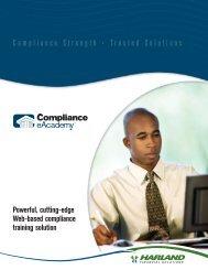 Compliance eAcademy Brochure