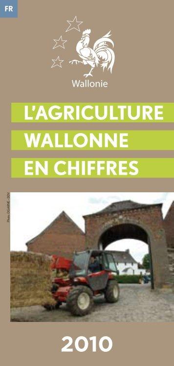 L'agricuLture waLLonne en cHiFFreS - Portail de l'Agriculture ...