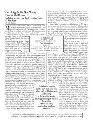 G Laskas R Rash.qxd - The Bloomsbury Review