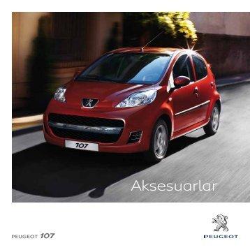 107 aksesuar broşürü - Peugeot
