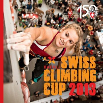 Booklet Bächli Swiss Climbing Cup 2013 - SAC