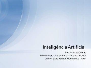Inteligência Artificial - Professores da UFF