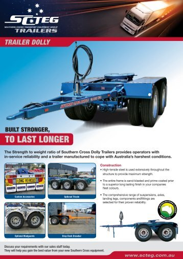 Dolly - Southern Cross Transport Equipment Group