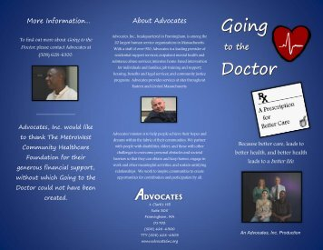 download the brochure pdf. - Advocates Inc.