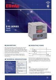 E-95 Series Timer Relay - Elimko