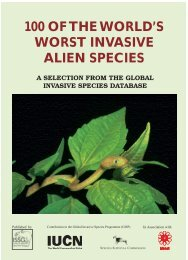 100 of the world's worst invasive alien species - Kansas State ...