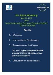 Ethik Workshop Agenda 5-6 May 2010.pdf - Photonics4Life