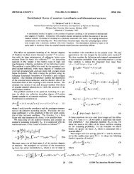 Semiclassical theory of quantum tunneling in multidimensional ...