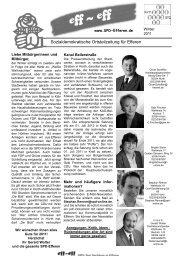 Eff-Eff Januar 2011 - SPD Ortsverein Hürth