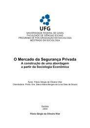 O Mercado da Segurança Privada - Fundação Maurício Grabois