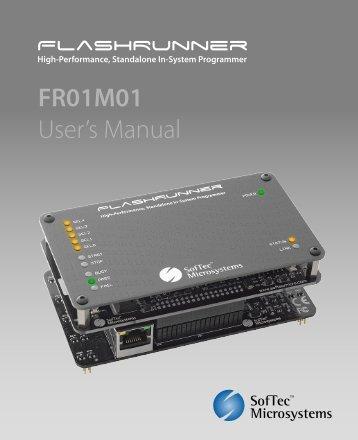 FR01M01 User's Manual - Ahlers EDV Systeme GmbH