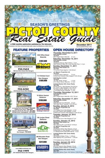 PCREG December 2011 - The Pictou Advocate