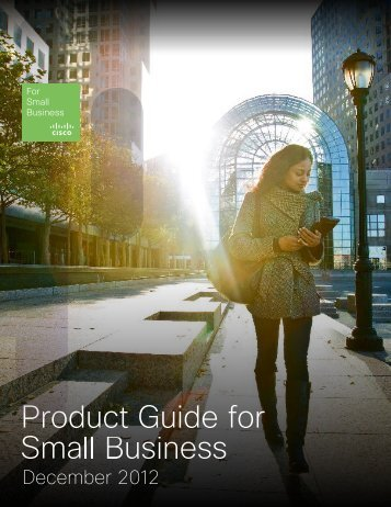 Cisco Product Guide for Small Business April 2012 - AT Computers