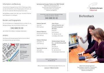 Biofeedback - VT Falkenried MVZ GmbH