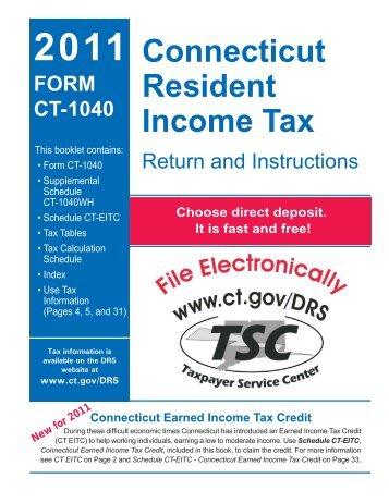 Ct 1120 Instructions 2011 Connecticut Corporation Business Tax