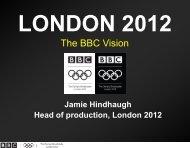 The BBC Vision - MWB Business Exchange