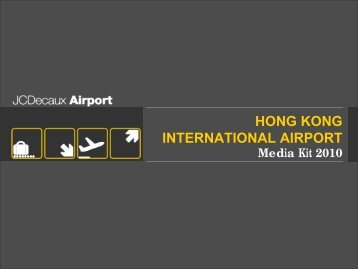 HONG KONG INTERNATIONAL AIRPORT - JCDecaux Group