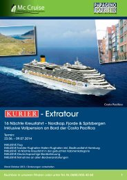 - Extratour - Mc Cruise