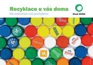 Recyklace u vás doma - Hnutí DUHA